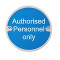 Image of Authorised Personnel Only - Pack of 10
