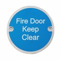 Image of Fire Door Keep Clear - Pack of 10