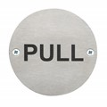 Image of Pull Safety Sign - Pack of 10